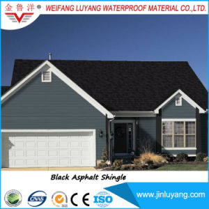 Factory Supply Single Layer Fiber Glass Colorful Asphalt Roofing Shingle for Sale pictures & photos