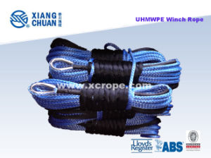UHMWPE Sk75 Blue Winch Rope pictures & photos