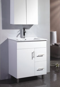 Australia Style Traditional Bathroom Vanity Units with Mirror Cabinet (SW-C750RG/W) pictures & photos
