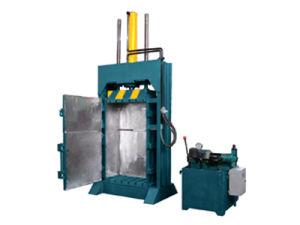 Non-Metallic Vertical Hydraulic Baler Machine pictures & photos