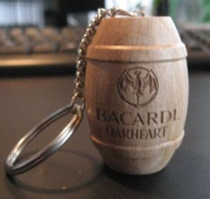High Quality Hot Floating Cork Keychains pictures & photos