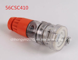 56csc410 4p 500V 10A IP66 Waterproof Socket pictures & photos