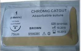 75cm Brown Chromic Catgut pictures & photos