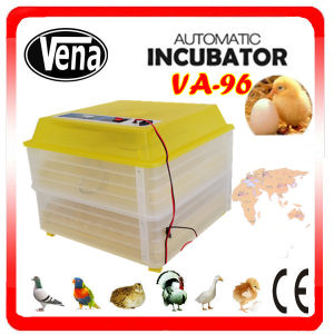 Mini Automatic Chicken Eggs Incubator for Breeding Eggs CE Approved Incubator for 96 Eggs pictures & photos