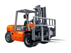 Japan Isuzu Diesel Engine 7ton Diesel Forklift Truck pictures & photos