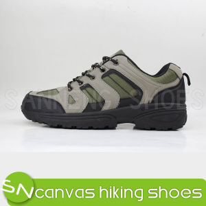 Sport Hiking Shoes with PVC Outsole Injection (SNS-01007) pictures & photos
