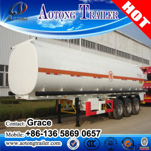 3 Axles 4 Axles 45000 Liters Fuel Tank Trailer, 50000 Liters Fuel Tanker Trailer, Fuel Tank Semi Trailer pictures & photos