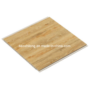 Wood Pattern Hot Stamp PVC Ceiling