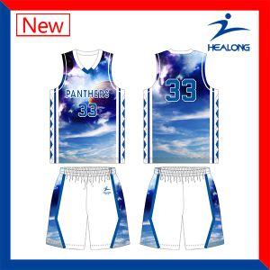 Make Your Own Sublimation Basketball Shirts Jerseys Sets Custom Design pictures & photos