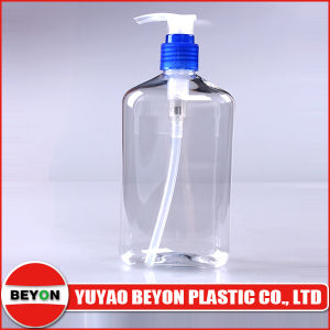 400ml Clear Pet Plastic Hand Wash Bottle (ZY01-A015) pictures & photos
