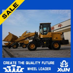 1.5ton Compact Hydraulic Wheel Loader with Joystick and Quick Change Optional pictures & photos