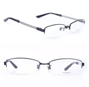 Ry Titanium Original Eyeglasses Half Rim Brand Name Frames (Ry8684) pictures & photos
