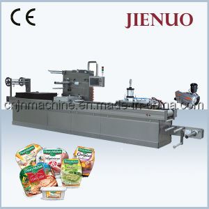 Automatic Continuous Stretch Vacuum Packing Machine (DDLZ-420) pictures & photos