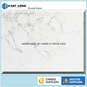 Calacatta White Quartz Stone for Kitchen Countertop/ Vanity Top pictures & photos