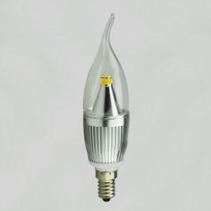 Silver Color LED Candles (E14 bulb) pictures & photos