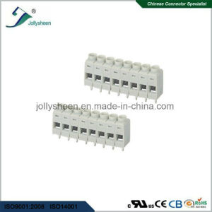 PCB Screw Terminal Blocks Pitch 5.0mm 8p DIP Type with Grey Housing pictures & photos