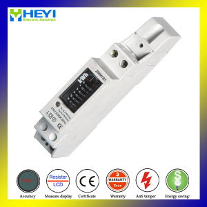 Single Phase DIN Rail Kwh Meter Register Type 10/30A 240V Anti Fire Plastic Case pictures & photos