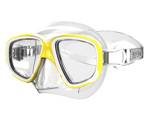 Diving Goggles with Tempered Glass and Silione (MK-604) pictures & photos