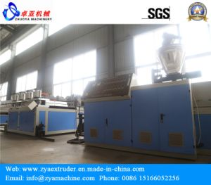 PVC Plastic Sheet Extruder/WPC Plastic Panel Extrusion Machine pictures & photos