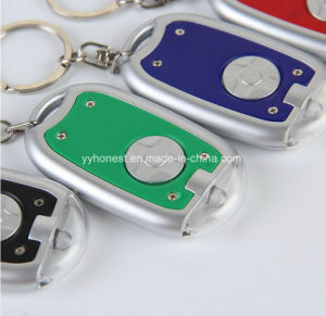 Promotional Gifts LED Keyring Custom Logo LED Keychain pictures & photos