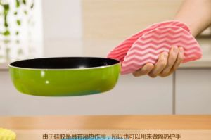 Eco-Friendly Lovely Soft Rubber Silicone Cup Mat Coaster pictures & photos