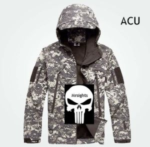 Men Outdoor Hunting Camping Waterproof Coats Jacket Hoodie ACU XS - XXL