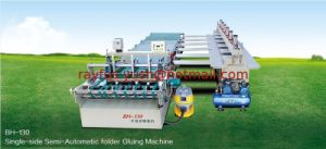 Semi-Auto Carton Box Pasting Machine pictures & photos
