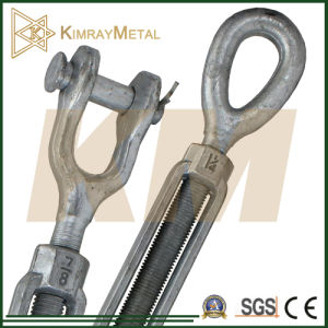 Us Type Drop Forged Turnbuckle (EG/ HDG) pictures & photos