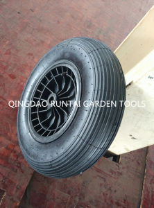 Hot Sell Qingdao Made Top Quality Durable Plastic Rim Air Rubber Wheel (4.80/4.00-8) pictures & photos