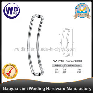 Stainlesss Steel Glass Door Shower Handle Wd-1018 pictures & photos