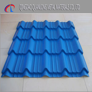 Color Coated Galvalume Corrugated Roofing Sheet for Construction pictures & photos