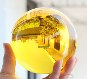 Good Quality with Factory Price Yellow Crystal Ball pictures & photos