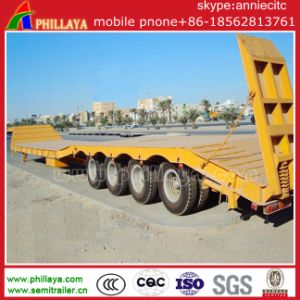 4 Lines 8 Axles Heavy Duty Low Bed Semi Trailer pictures & photos