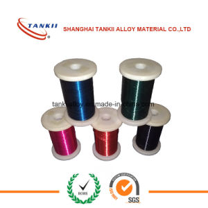 Enamelled Ni80Cr20 Wire/High Resistance Alloy Wire pictures & photos