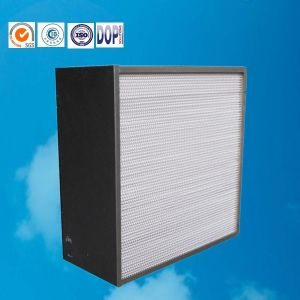H14 Panel Filter Factory, High Temperature HEPA Filter pictures & photos