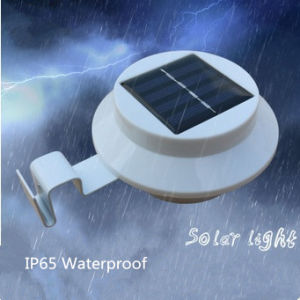 Outdoor Solar 3LED Sink Light Solar Fence Light Corridor Lamp Wall Lamp Light Motion Detection Path Garden Yard Light Ledstar pictures & photos