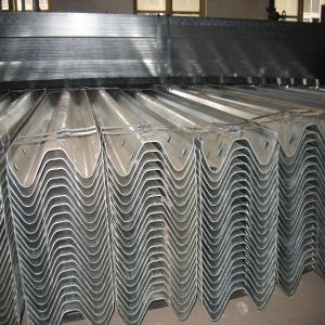 Galvanized Highway Traffic Steel Barrier pictures & photos