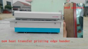 New Product Heat Transfer Printing Edge Banding Machine pictures & photos