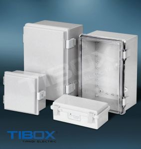 Plastic Box -Plastic Latch + Hinge Type pictures & photos