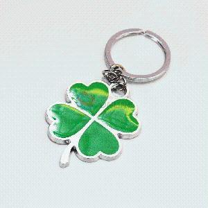 Clover Zinc Alloy Metal Key Chain/Key Ring pictures & photos