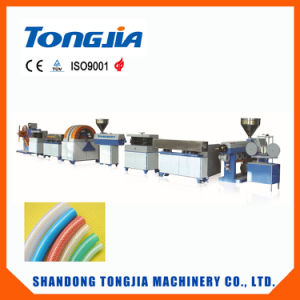 PVC Spiral Steel Wire Reinforced Transparent Hose Production Line-Plastic Machine pictures & photos