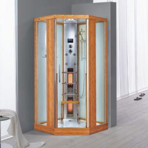 Shower Bamboo Steam Shower Room/Steam Sauna (Nature Series K052)