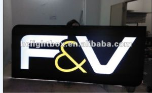 Top Quality A0 A1 A2 A3 A4 Acrylic Frame LED Advertising LED Display (Model 1130) ! pictures & photos