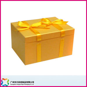 Gift Box with Ribbon Closure (XC-1-039) pictures & photos