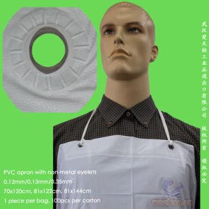 Disposable Water-Proof PVC Apron pictures & photos