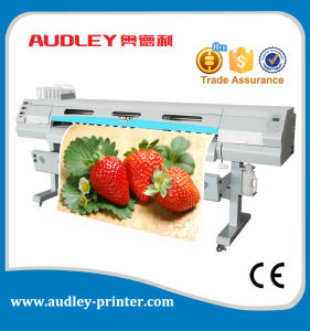 Audley Poster Printer Machine, Digital Eco Flex Banner Inkjet Printer, Outdoor Plotter pictures & photos