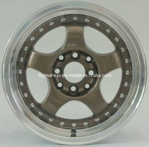 5 Spoke Alloy Wheel with Stud (HL027) pictures & photos