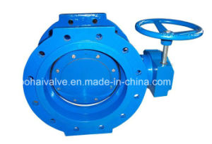 Double Flange Double Eccentric Butterfly Valve