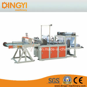 Bottom Sealing&Cutting Machine with Conveyor pictures & photos