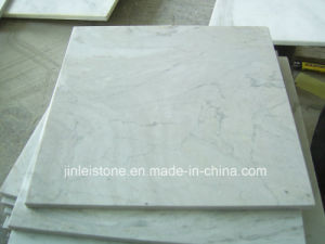 Pure White Volakas Marble Slabs for Floor/Wall/Countertop pictures & photos